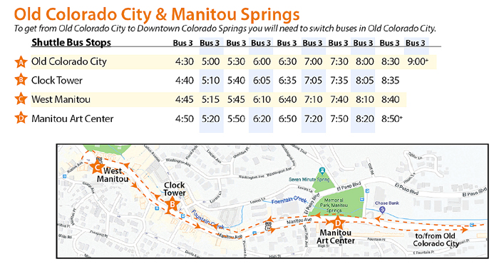 Occ Manitou Shuttle Added Feature For This Year S Corridor Artwalk